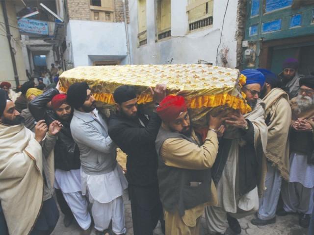 Mohinder Singh's Coffin